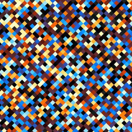 mosaic: Digital art abstract pattern Abstract geometric image in pixel art low poly style.