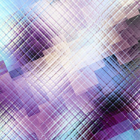 glitch: Square grunge texture. Technology futuristic abstract background.