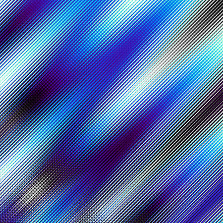 reflect: Blurred blue diagonal background. Abstract futuristic fractal image. Imitation of a glass blur effect.