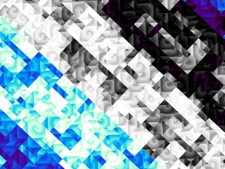 stripping: Digital art abstract pattern. Abstract geometric image with the squares