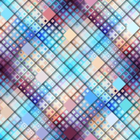 Seamless background. résumé motif géométrique abstrait dans le style de pixel de l & # 39 ; art low poly Banque d'images - 81227858