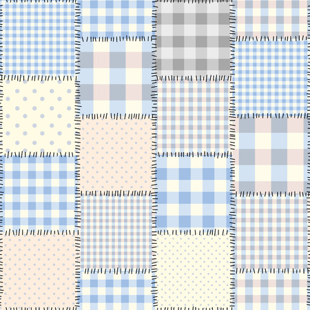 Seamless background pattern. The patchwork pattern of a squares.