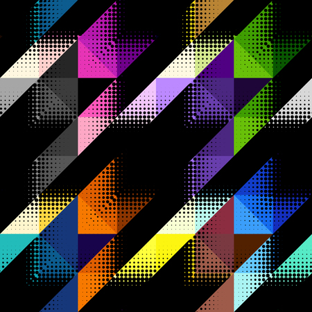 checked: Seamless background pattern. Geometrical Hounds-tooth pattern in abstract geometric style.