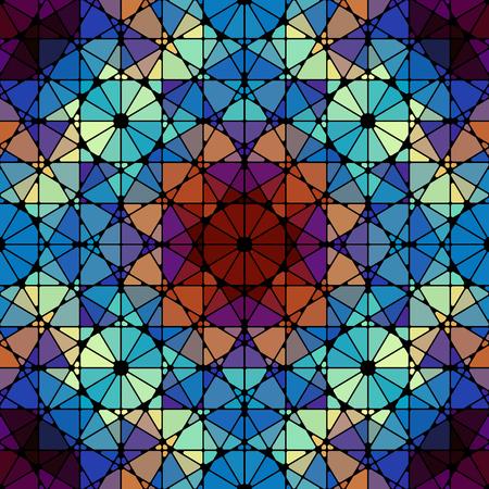 turquiose: Seamless arabic geometric pattern. Vector traditional muslim background. east culture, arabesque, persian motif.