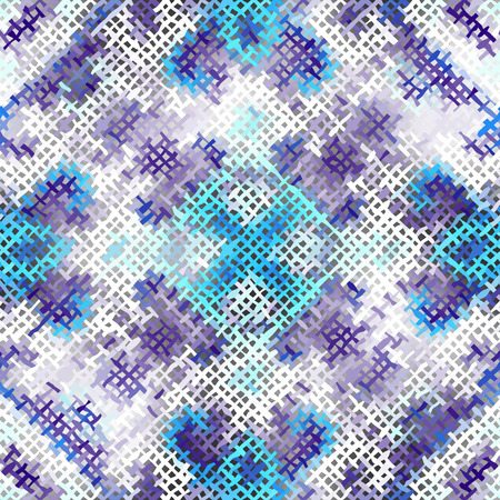 art piece: Seamless background pattern. Imitation of a texture of rough canvas painted with paint.