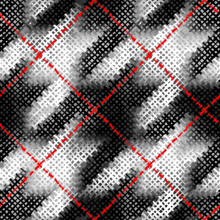 Seamless background pattern. Imitation of a texture of rough canvas painted with paint.
