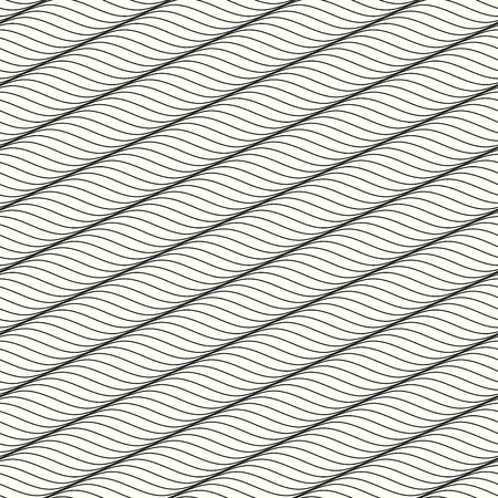 Guilloche seamless background. Background of wavy texture in guilloche style.