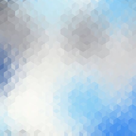 Blurred background. Geometric abstract pattern in low poly style. Polygonal pattern of a cubes.