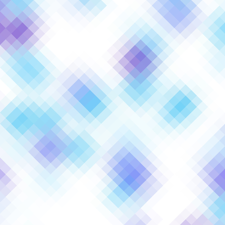Blurred background. Geometric abstract pattern in low poly style. Effect of a glass. Illustration