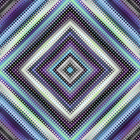 Seamless background   Geometric abstract symmetric pattern in low poly pixel art style.