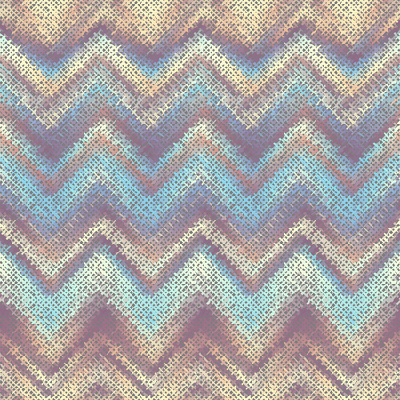 Seamless background chevron pattern. Imitation of a texture of rough canvas. Vector image.
