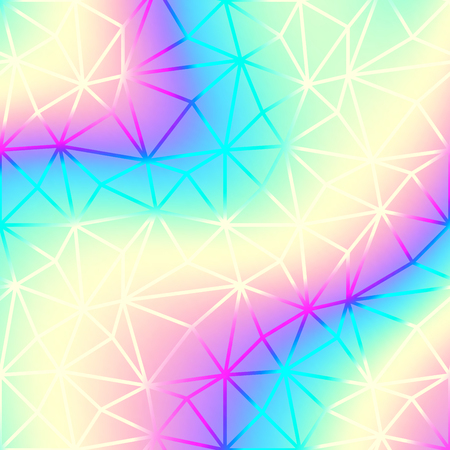 Soft blending abstract gradient background vector. Blur smooth background. Holographic colors. Vector image. Illustration