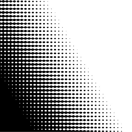 Halftone grunge background. Black and white abstract pattern. Small circles background. Vector image.