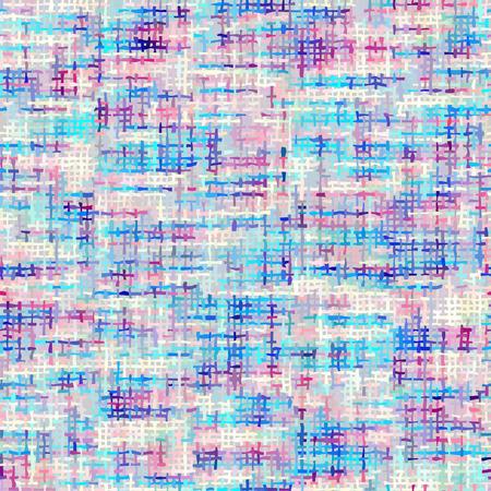 Patrón sin costuras. Imitación de la textura de un tejido tweed clásico. Imagen vectorial.