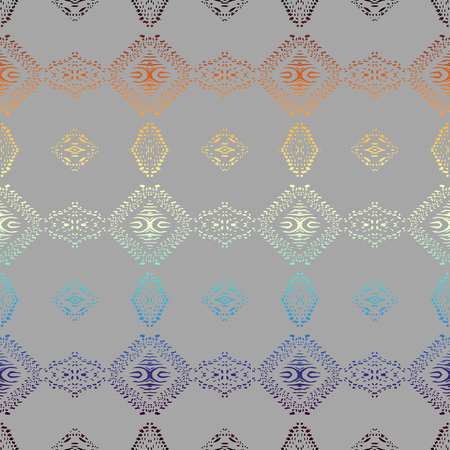 Seamless background pattern. Abstract ethnic pattern. Vector image