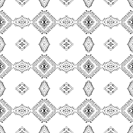 Seamless background pattern. Abstract ethnic pattern. Vector image Ilustração