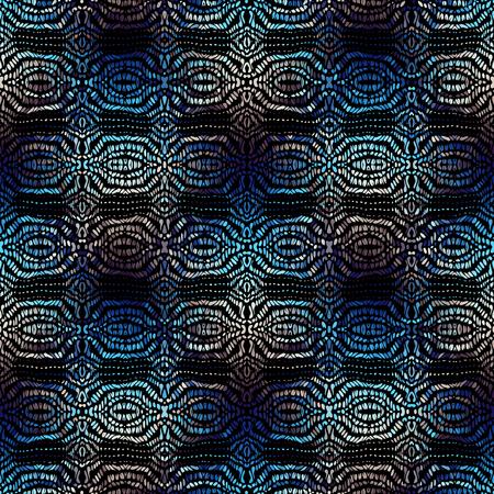 Patrón de fondo transparente. Patrón tribal étnico. Imagen vectorial.