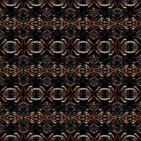Seamless background pattern. Etnnic tribal pattern. Vector image