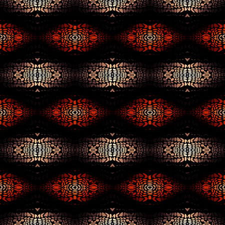 Seamless background pattern. Etnnic tribal pattern. Vector image.