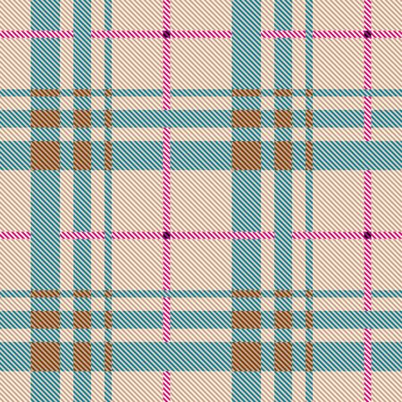Seamless background. Geometric abstract diagonal plaid pattern in classic style. Vector image.
