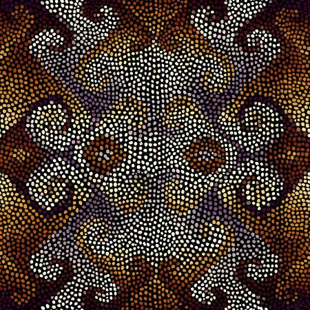 Seamless vector pattern. Pattern of a random small dots.