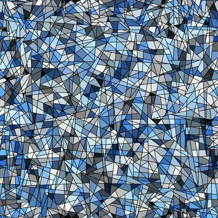 Seamless background pattern. Unusual polygonal mosaic pattern. Vector image.