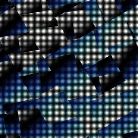Dots background. Geometric abstract pattern in low poly style. Small circles background.