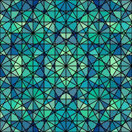 Seamless arabic geometric pattern. Vector traditional muslim background. east culture, arabesque, persian motif.