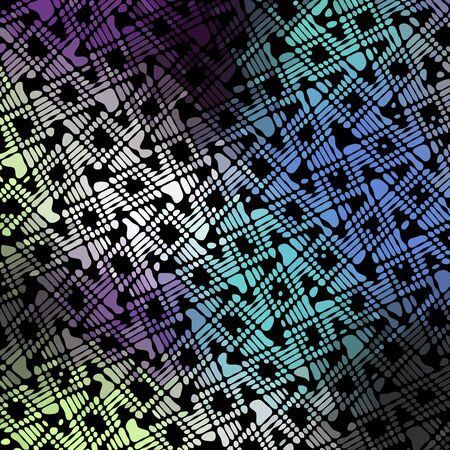Abstract pattern in low poly style. Wavy texture. Vector image.