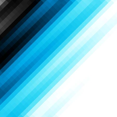 Blurred background. Geometric abstract pattern in low poly style. Effect of a glass. Vector image. Çizim