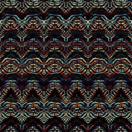 Seamless background pattern. Etnnic tribal pattern. Vector image