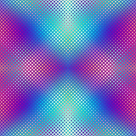 Abstract geometric pattern in low poly style. Pixel art style. Vector image.