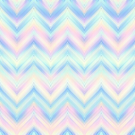 Seamless vector pattern. Blur defocused chevron pattern in low poly style.