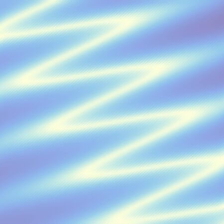 Neon bright wavy line. Diagonal strips low poly pattern. Vector image. Çizim