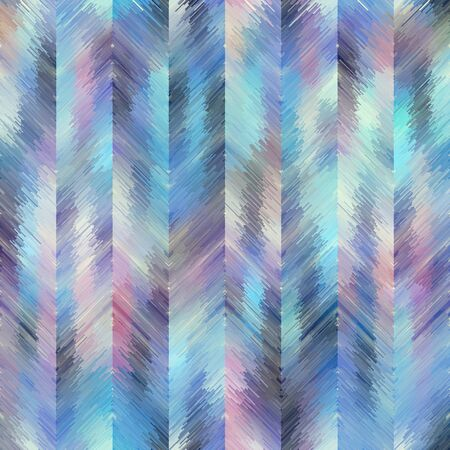 Seamless vector pattern. Grunge chevron pattern in low poly style.
