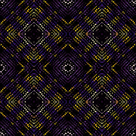 Seamless background pattern. Abstract ethnic tribal pattern. Vector image Ilustração