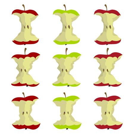 Conception de vecteur de pomme apple Banque d'images - 93322317