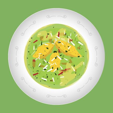 soup vector design