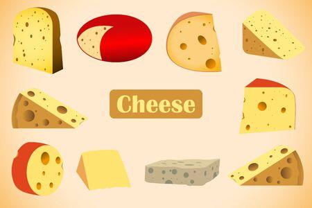 cheese vector design