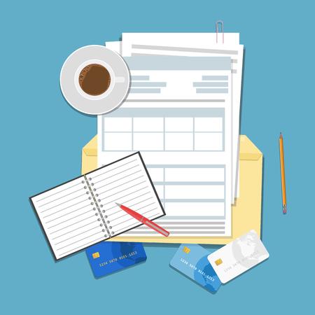 Auditing and business analysis concept. Financial adviser, auditing tax process, big data analysis,seo analytics, financial report. Reklamní fotografie - 119781009