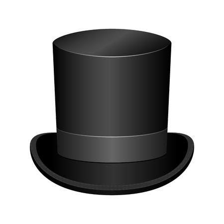 Vintage classic stylish hat vector design illustration isolated on white background