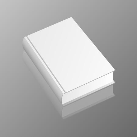 Stylish book mockup vector design illustration