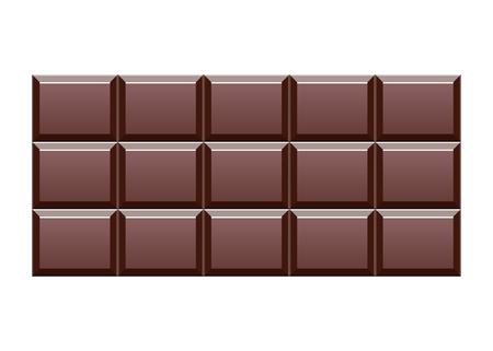 Delicious chocolate bar vector design illustration Stok Fotoğraf - 122623360