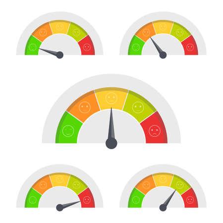 Customer feedback vector design illustration isolated on white background
