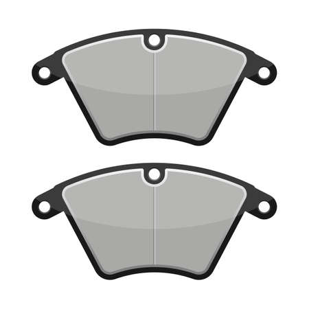 Brake pads vector design illustration isolated on white background