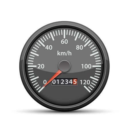 Speedometer vector design illustration isolated on white background