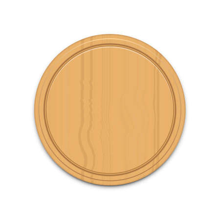 Kitchen cutting wooden board vector design illustration isolated on white background