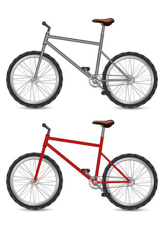Bicycle vector design illustration isolated on white background