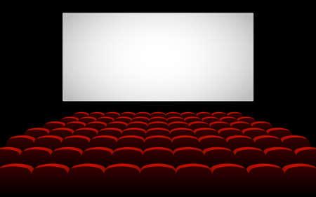 Cinema movie theater vector design illustration