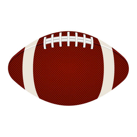 American football ball vector design illustration isolated on white background